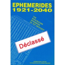 Ephémérides 1921-2040